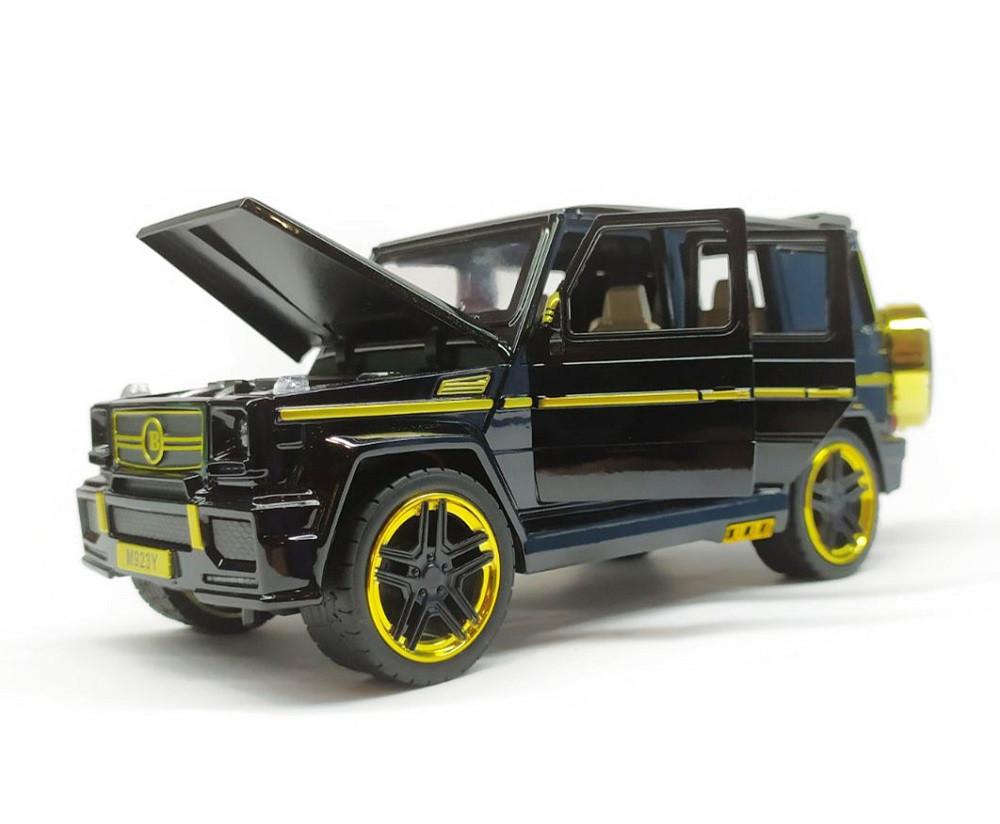 Модель Mercedes-benz 7688M черная