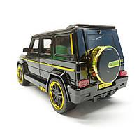 Модель Mercedes-benz 7688M черная, фото 5