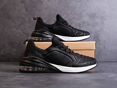 Мужские черные кроссовки в стиле Nike Air Max 270 обувь мужская демисезонная Размеры 42,44,45,46