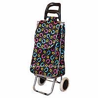Дорожная сумка на колесах Колечки