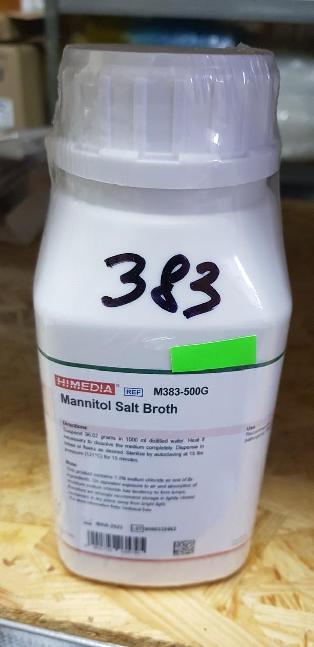 Mannitol Salt Broth М383 Солевой бульон с маннитом