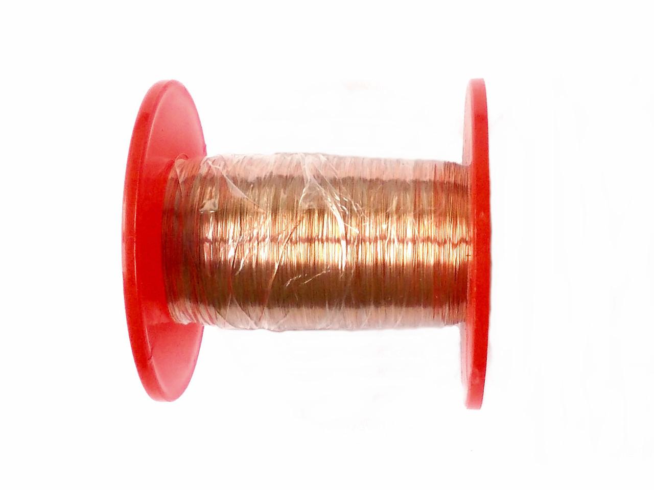 Провод обмоточной диаметром 0,13 мм на катушке 0.1 кг