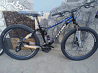 """Велосипед алюминиевый Titan Apache 29*3"""" двухподвесный"""