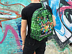 Рюкзак міський Протикрадій MINECRAFT (різнокольоровий) 1263, фото 3