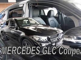 Дефлекторы окон (ветровики)  MERCEDES GLC COUPE C253 5D 2017-> 4шт (Heko)