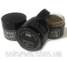 Хна для брів Permanent lash&brow темно-коричнева, 20мл.