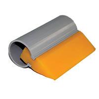 Поливинил жёлтый 14см (140х50мм). В комплекте может поставляться пластиковая трубка, которая служит держателем