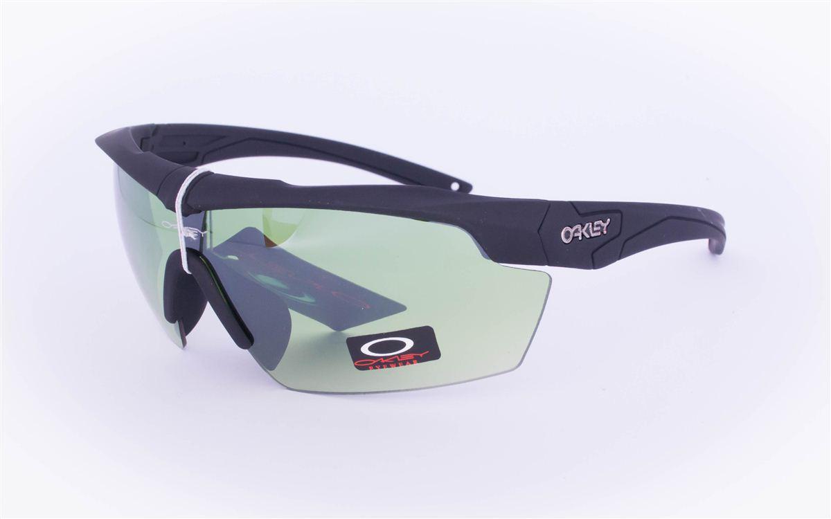 Тактические брендовые очки-маска Oakley - Черные - 7931