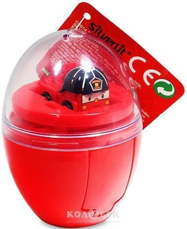 Мини-машинка Robocar Poli Рой в яйце 2,8 см
