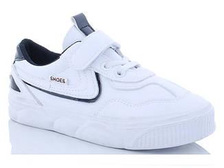 Кроссовки детские демисезонные белый цвет размер 31-37
