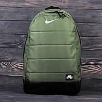Городской спортивный рюкзак NIKE AIR Хаки | Стильный портфель Найк мужской / женский