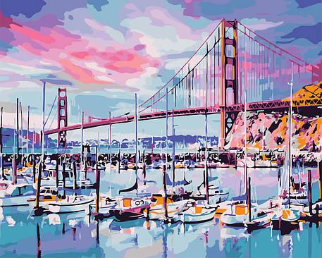 Картина по номерам - Мост Золотые ворота ArtStory 40*50 см. (AS0690), фото 2
