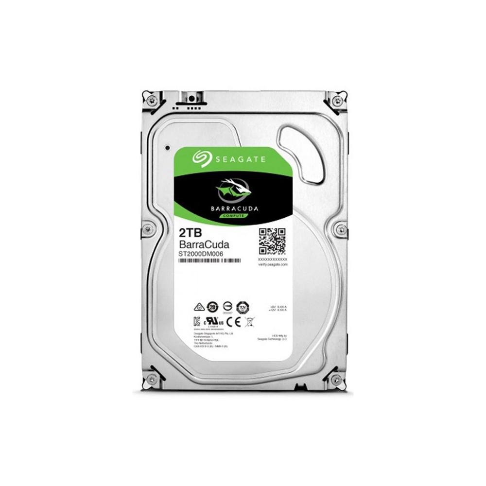 "Жесткий диск 3.5"" Seagate BarraCuda HDD 2TB 7200rpm 64MB ST2000DM006 SATA III"
