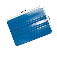 Выгонка 3М голубая (размер: 100х70мм) используется для оконных и антигравийных плёнок. Имеет среднюю гибкость