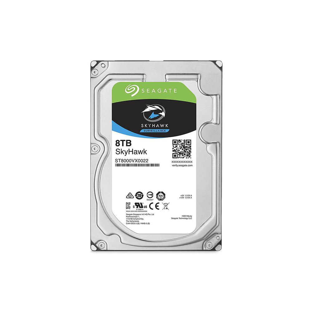 """Жорсткий диск 3.5"""" Seagate SkyHawk HDD 8TB 7200rpm 256MB ST8000VX0022 SATAIII"""