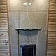 Дровяная печь-каменка Теплодар Домна Панорама 30 ЛРК с паровой пушкой, объем парилки 20-30 м.куб, фото 5