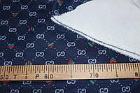 Ткань французский трикотаж ,  плотный, стрейч средний № 388, фото 1
