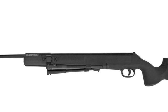 Гвинтівка SPA SR1250S (Artemis) зі складеними сошками