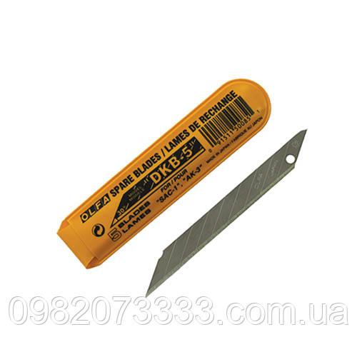 Лезвия Olfa 30 (в упаковке 5шт) Размер: 10х85мм, угол реза под 30 градусов. Имеет девять отломных сегментов