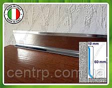 Плинтус из полированной нержавейки  Profilpas Metal line 790 60