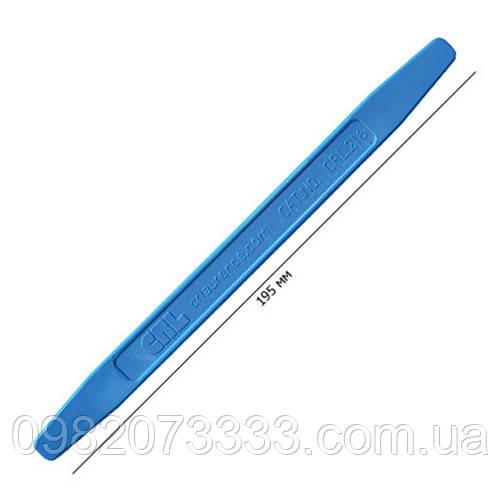 Выжимка (размер:195х15мм) предназначена для выгона мелких пылинок из под плёнки, удобная форма в виде ручки