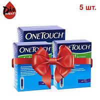 Тест-полоски ВанТач Селект (OneTouch Select) - 5 уп. по 50 шт.