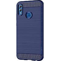 Противоударный TPU чехол накладка iPaky Slim Series для Samsung Galaxy A40 A405F Синий 29829-d5c, КОД: 1803038