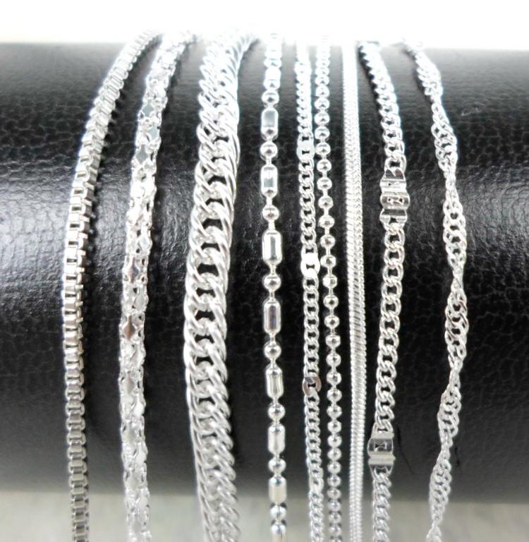 Цепочка Покрытие Серебро 47 см. Цепь