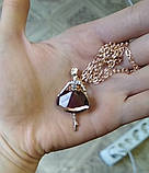 Балерина Девушка Подвеска Цепь Ожерелье Ювелирные Изделия, фото 4