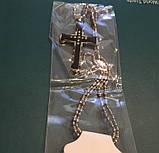 Мужской Крестик с Цепочкой из Нержавеющей Стали Крест, фото 3