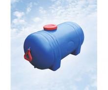 Бочка техническая 125 литров горизонтальная с выходом под кран