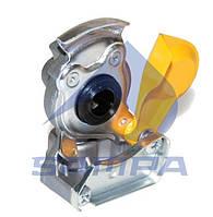 Соединительная муфта для шлангов ( тягач. M16x1.5. желтая ) ( SAMPA ) 095.005-01