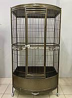 Вольер «Золотой Замок» для крупных попугаев (165*90*60 см.), фото 1