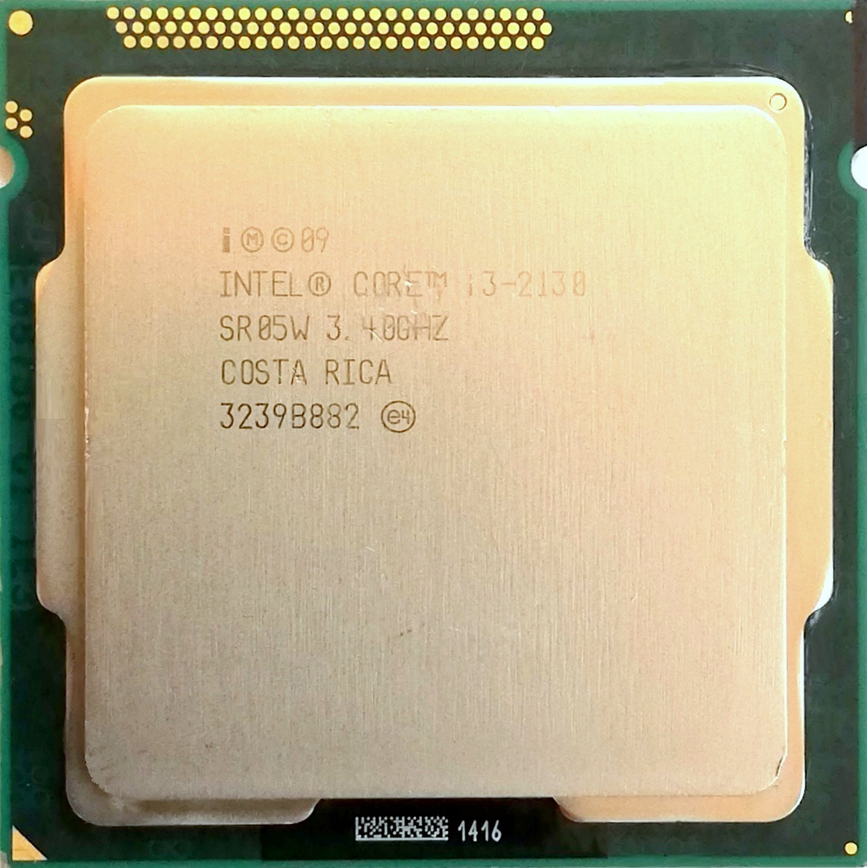 Процессор Intel Core i3-2130 Q0 SR05W 3.4GHz 3M Cache Socket 1155 Б/У