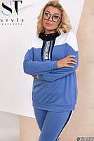Спортивный костюм с худи с капюшоном с 48 по 54 размер, фото 6