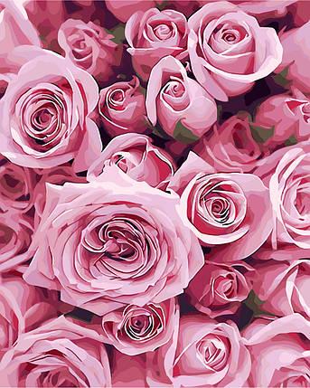 Картина по номерам - Розы ArtStory 40*50 см. (AS0248), фото 2