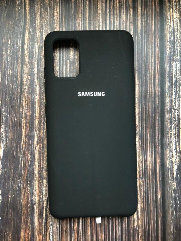"""Чехол Samsung A51 - """"Черный №18"""""""