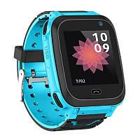 Детские умные часы UWatch F3 с GPS Blue FL-138, КОД: 993698