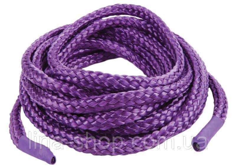Веревка для связывания 5м, Japanese Silk Love Rope (пурпурный)