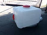 Бочка квадратная пищевая 100 литров с выходом под кран, фото 3