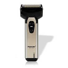 Электробритва для мужчин NIKAI NK-7005 с триммером Серебристый, КОД: 107408