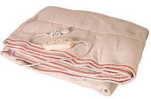 Электропростынь Electric blanket 5713 150 х 150 см Белая 010184, КОД: 1766107