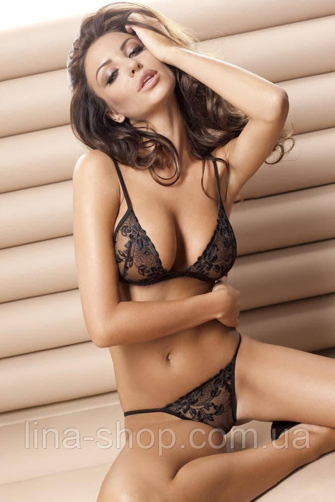 Роскошный сексуальный комплект Anais Donna без пояса (S)