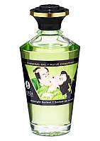 Съедобное согревающее масло Warming Oil Intimate Kisses, 100 мл (сливочный), фото 1