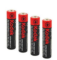Батарейки ААА мизинчиковые Kodak 4 шт 008047, КОД: 949875