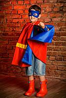 Детский карнавальный костюм Плащ Супермена