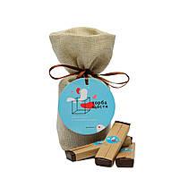 Шоколадний набір з передбаченнями Торба щастя подарунки на день народження