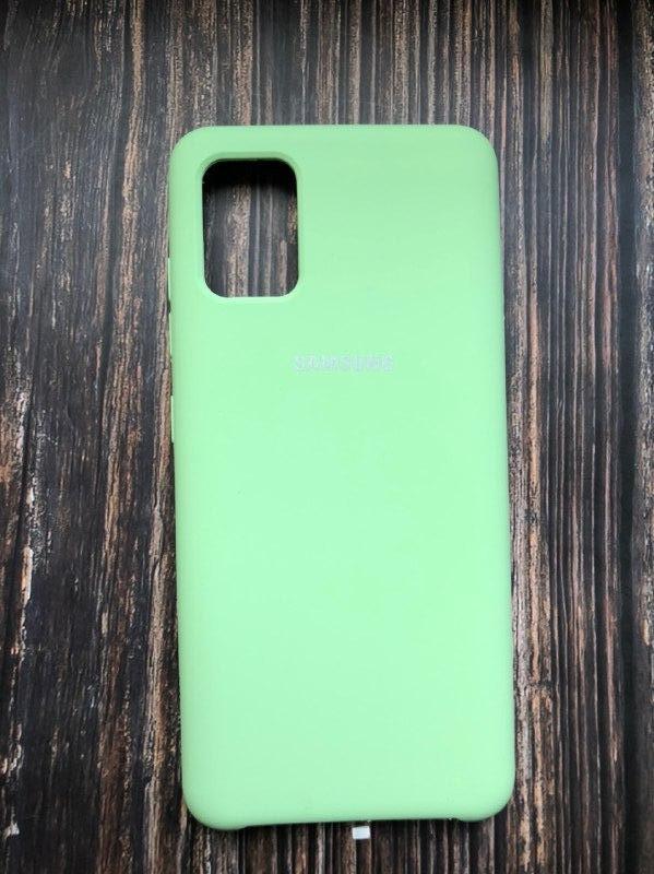 "Чехол Samsung A51 - ""Фисташка №1"""