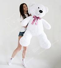 Плюшевий Ведмедик Білий 140см