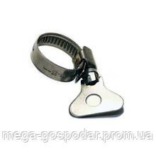 """Хомут с стальной ручкой-ключом бабочка от """"13х23мм"""" до """"21х38мм"""""""